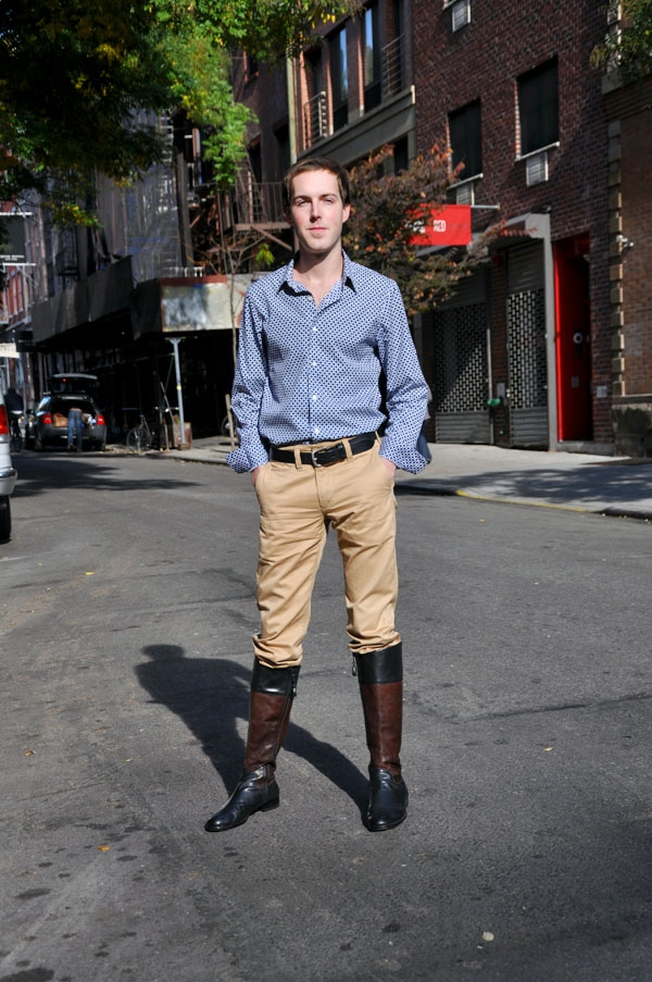 Riding Boots Trend: It's For Guys Too! | Style Blog FStyle4